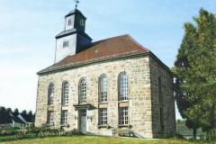 Simmershausen-Kirche-Ölbild