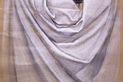 Tuch-auf-Papierkorb-Ölpastell-Oliver-Gerke